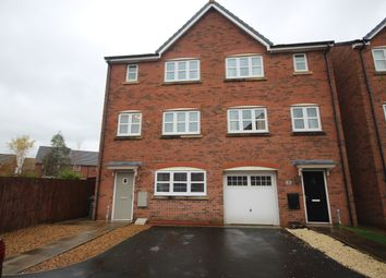 Thumbnail 5 bed town house to rent in Robinson Close, Buckshaw Village, Chorley