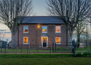Thumbnail 4 bed detached house for sale in Cross Drove, Tydd St. Giles, Wisbech