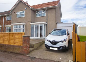 Thumbnail 3 bed end terrace house for sale in Catcote Road, Hartlepool