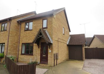 Thumbnail 3 bed semi-detached house for sale in Martinsbridge, Peterborough