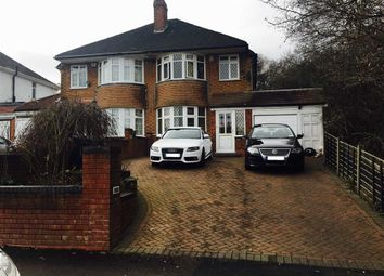 Thumbnail 4 bedroom semi-detached house to rent in Hobs Moat Road, Solihull