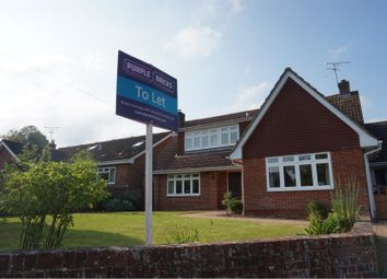 Thumbnail 4 bed detached house to rent in Barrow Hill, Andover