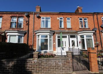 Thumbnail 2 bed terraced house for sale in Glebe Road, Darlington