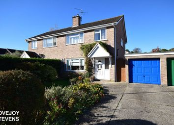 Thumbnail 3 bed semi-detached house for sale in Skippons Close, Newbury