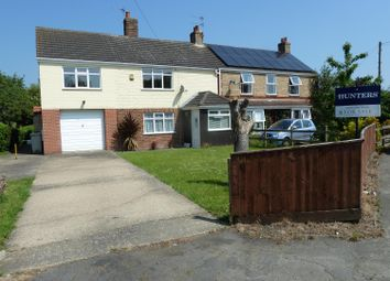Thumbnail 3 bed semi-detached house for sale in Main Road, Maltby Le Marsh, Alford