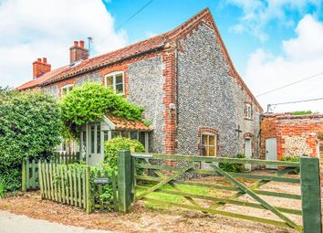Thumbnail 3 bedroom semi-detached house for sale in The Street, Ridlington, North Walsham