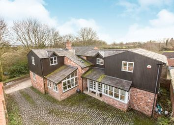 Thumbnail 5 bed detached house for sale in Cinderhill, Whitegate, Northwich, Cheshire