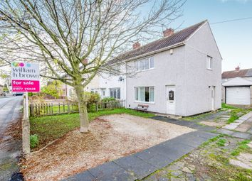Thumbnail 2 bed semi-detached house for sale in Camden Road, Castleford