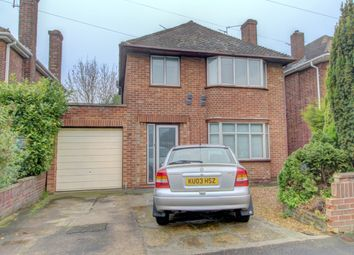 Thumbnail 3 bed detached house for sale in Warwick Road, Peterborough