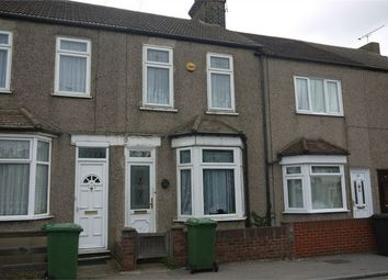 Thumbnail 2 bed terraced house to rent in Whitehall Lane, Grays, Essex