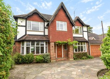 Thumbnail 4 bedroom detached house for sale in Ewell Downs Road, Epsom