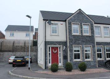 Thumbnail 3 bed semi-detached house for sale in Brannock Court, Railway Street, Poyntzpass, Newry