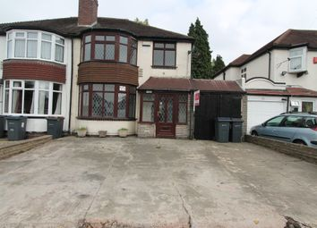 Thumbnail 3 bed semi-detached house to rent in Old Walsall Road, Birmingham