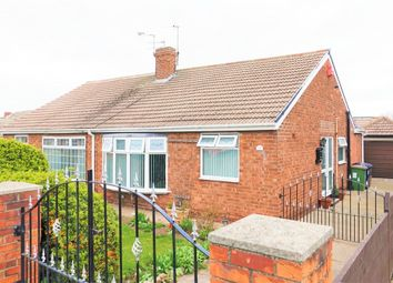 Thumbnail 2 bed semi-detached bungalow for sale in Highfield Road, Eston, Middlesbrough
