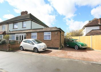 Thumbnail 4 bed semi-detached house for sale in Greene Fielde End, Staines-Upon-Thames