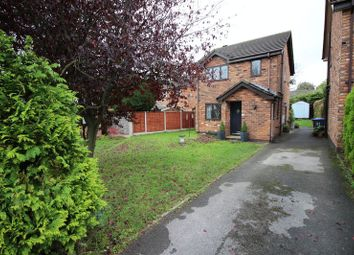 Thumbnail 3 bed detached house for sale in The Willows, Leek, Staffordshire