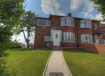 Thumbnail 3 bedroom semi-detached house for sale in West Vallum, Newcastle Upon Tyne
