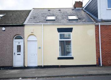 Thumbnail 3 bed cottage for sale in Wilson Street, Sunderland