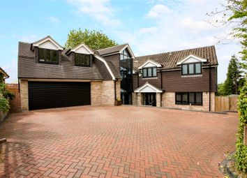 Thumbnail 5 bed detached house for sale in Quennells Hill, Wrecclesham, Farnham, Surrey