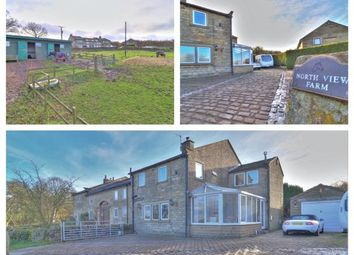Thumbnail 4 bed detached house for sale in Manywells Brow, Cullingworth, Bradford