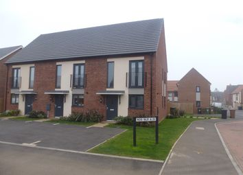 Thumbnail 3 bed end terrace house for sale in Mars Drive, Wellingborough