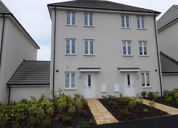 Thumbnail 3 bed town house to rent in Newcourt Way, Rydons, Exeter