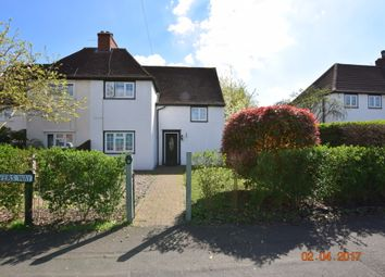Thumbnail 4 bedroom semi-detached house to rent in Culvers Way, Carshalton