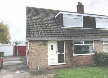 Thumbnail 3 bed semi-detached bungalow for sale in Cawood Drive, Skirlaugh, East Yorkshire