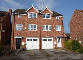 Thumbnail 4 bed town house to rent in 10 Stoops Lane, Bessacarr