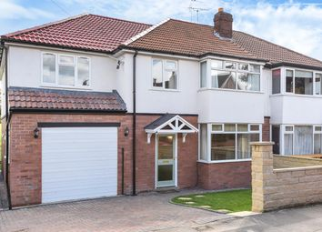 Thumbnail 5 bed semi-detached house for sale in Bentcliffe Gardens, Moortown, Leeds