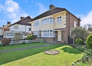 Thumbnail 3 bed semi-detached house for sale in Orchard Avenue, Worthing, West Sussex