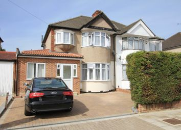 Thumbnail 4 bed semi-detached house for sale in Lulworth Drive, Pinner