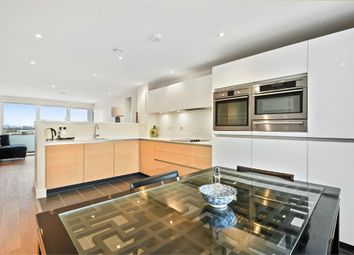 Thumbnail 3 bed flat to rent in Landmann Point, 6 Pear Tree Way, North Greenwich, London