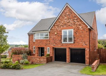 Thumbnail 5 bed detached house for sale in Greenfields Lane, Malpas, Cheshire