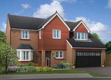 "Thumbnail 4 bed detached house for sale in ""Chesham"" at Boundary Park, Parkgate, Neston"