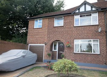 Thumbnail 3 bed semi-detached house for sale in Convent Road, Ashford, Surrey