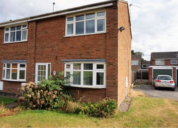 Thumbnail 2 bed end terrace house for sale in Tudor Close, Ashby-De-La-Zouch