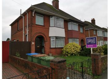 Thumbnail 3 bed semi-detached house for sale in Romsey Road, Southampton