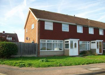 Thumbnail 3 bed end terrace house to rent in Brook Road, Swalecliffe