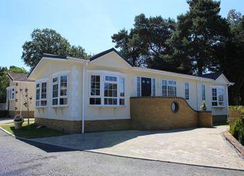 Thumbnail 2 bed mobile/park home for sale in Oakwood Court, Whitehill, Bordon
