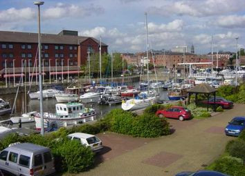 Thumbnail 1 bedroom flat to rent in Kingston Wharf, Hull Marina, Hull