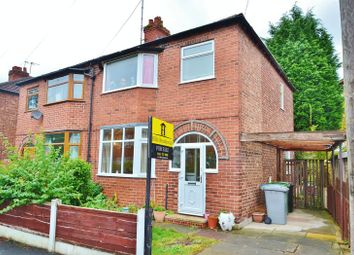 Thumbnail 3 bedroom semi-detached house for sale in Devon Road, Flixton, Urmston, Manchester