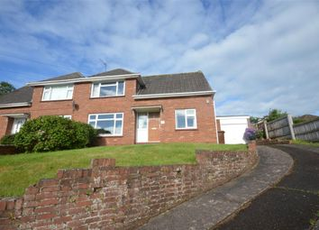 Thumbnail 2 bed semi-detached bungalow for sale in Wiltshire Close, Exeter, Devon
