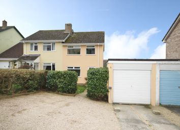 Thumbnail 3 bed semi-detached house for sale in Pengarth Road, Falmouth