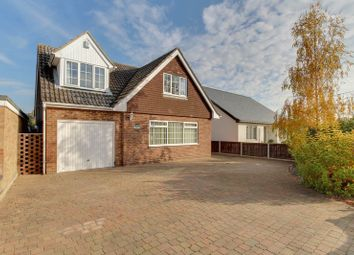 Thumbnail 3 bed detached house for sale in Church Road, Alresford, Colchester