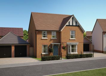 "Thumbnail 4 bedroom detached house for sale in ""Thorpe"" at Wedgwood Drive, Barlaston, Stoke-On-Trent"