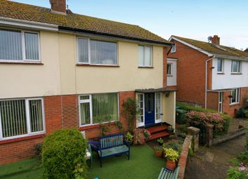 Thumbnail 3 bed terraced house for sale in Deer Park Avenue, Teignmouth