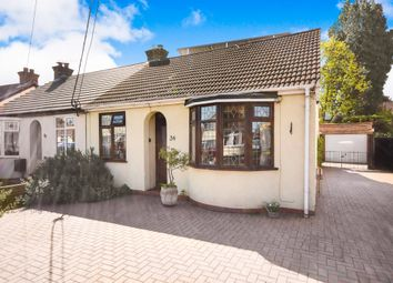 Thumbnail 3 bed semi-detached bungalow for sale in South Crescent, Southend-On-Sea