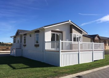 Thumbnail 2 bedroom mobile/park home for sale in Mill Road, Yarwell, Peterborough