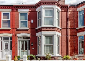 Thumbnail 3 bed terraced house for sale in Grovedale Road, Liverpool